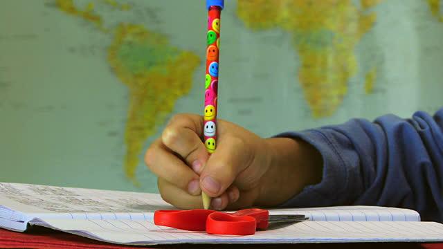 Grafología infantil o reeducación escritural